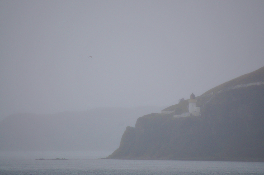 Picture of McArthur's Head lighthouse on a dreich day