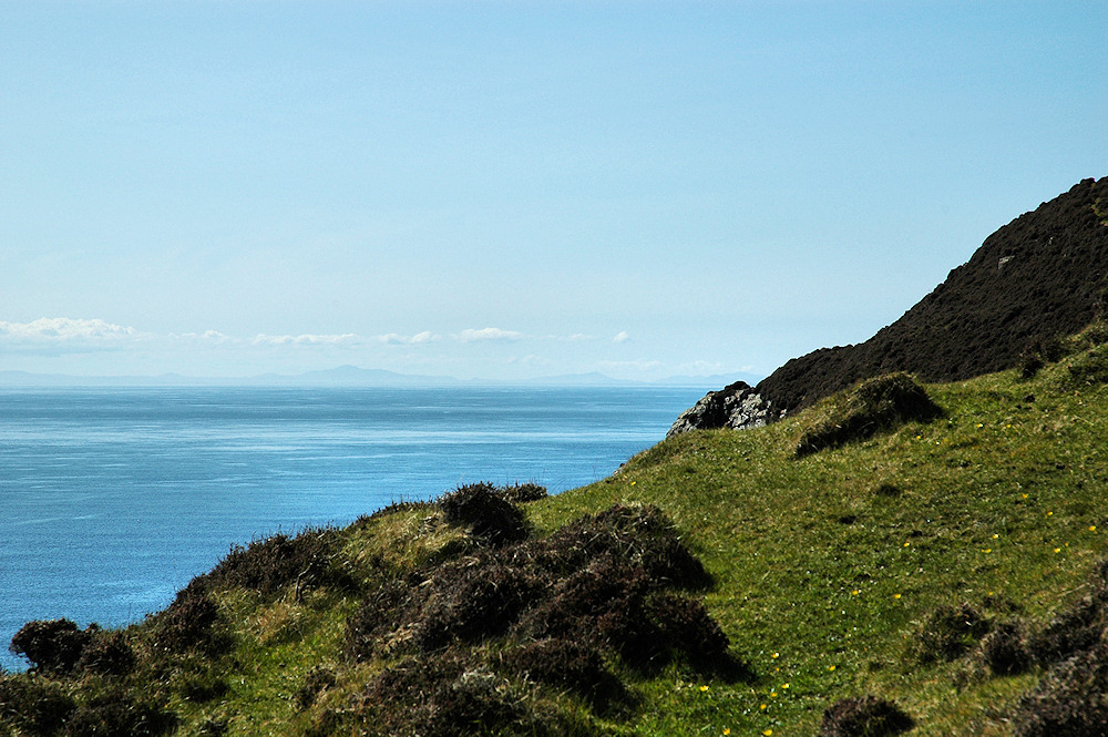 Picture of a view over the North Channel from Islay to Ireland