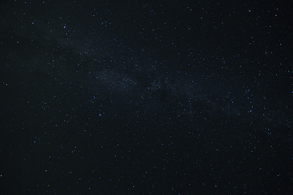 Picture of stars in the night sky