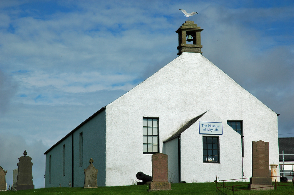 Picture of the Museum of Islay life building, a former church