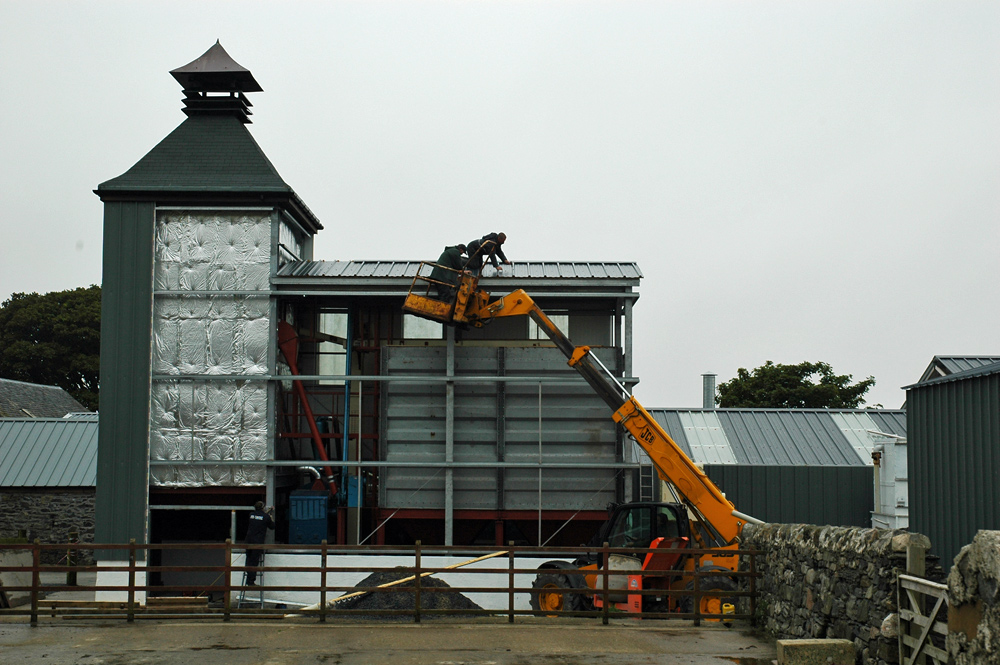 Picture of a small farm distillery under construction