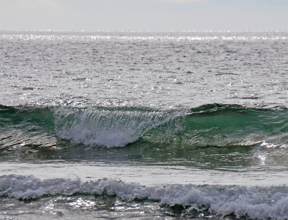 Picture of a breaking wave