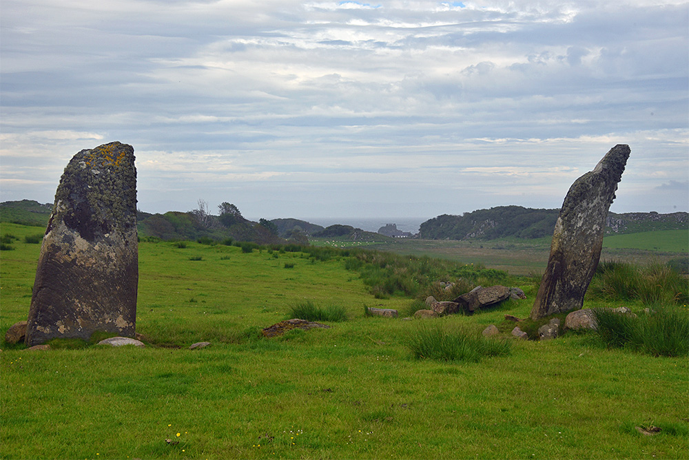 Picture of what I believe to be the remains of a chambered cairn