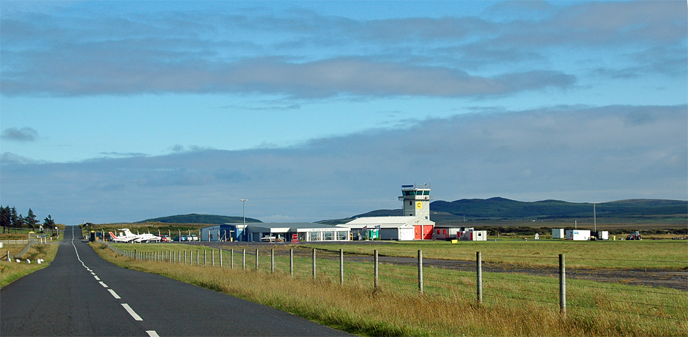 Picture of a small regional airport