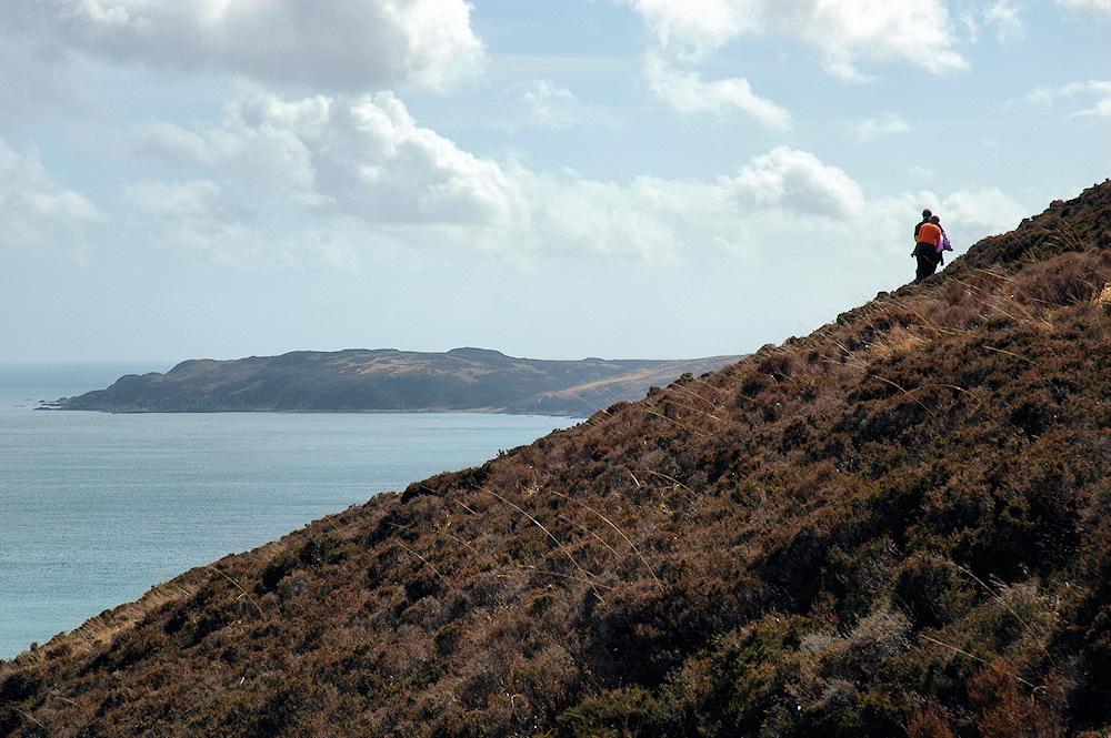 Walking near McArthur's Head, Isle of Islay