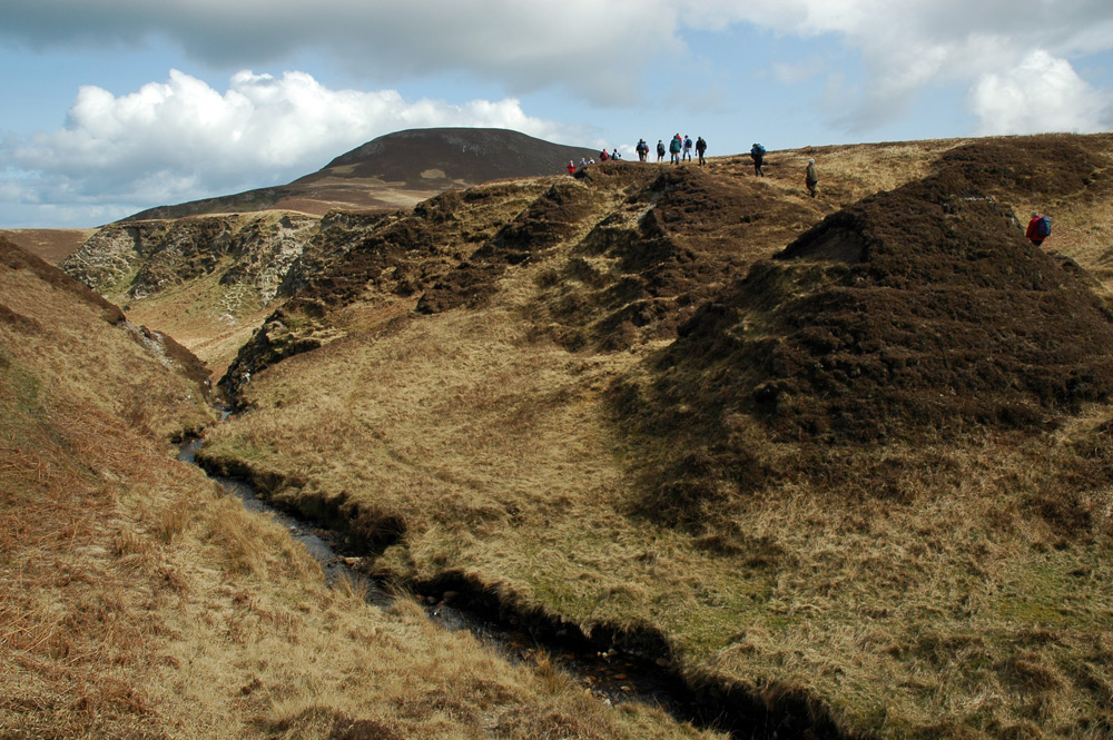 Picture of a burn (stream) in a remote rugged landscape