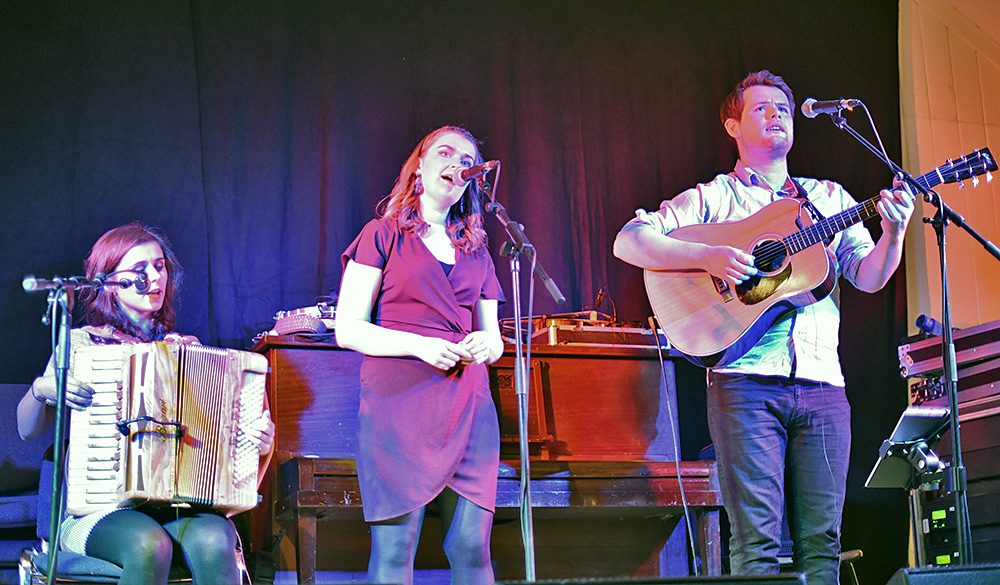 Picture of Josie Duncan and The Dusk performing at the Islay Sessions 2018