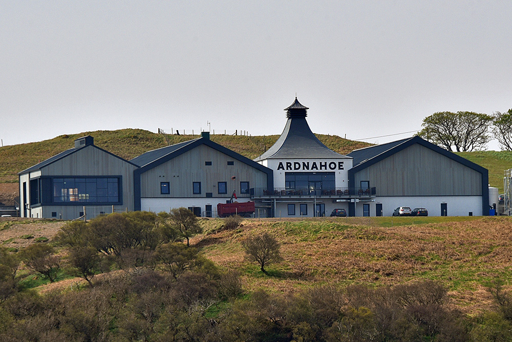 Picture of Ardnahoe distillery on Islay